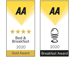 Post Office House AA Four Star Gold Award