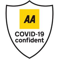 AA COVID-19 Confident Badge