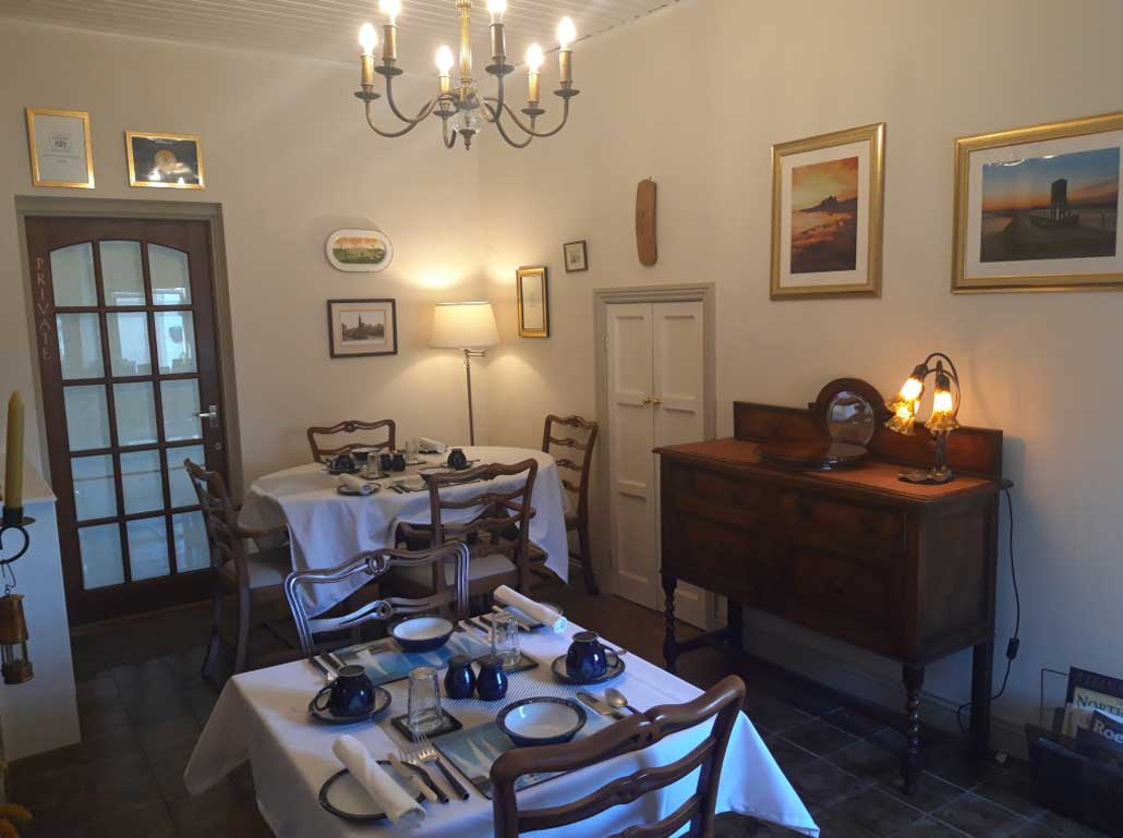 Dining Room at Post Office House