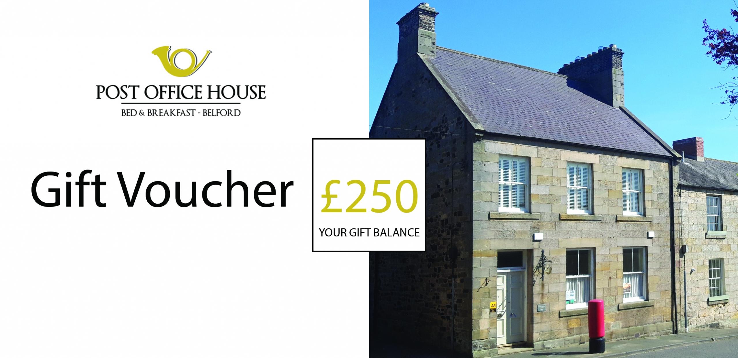 Post Office House £250 Voucher