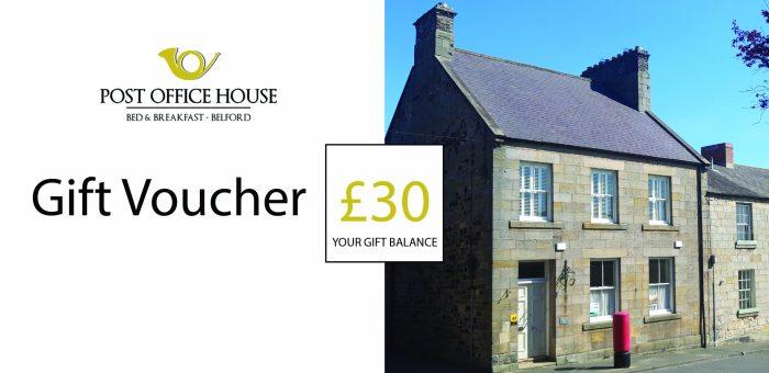 Post Office House £30 Voucher